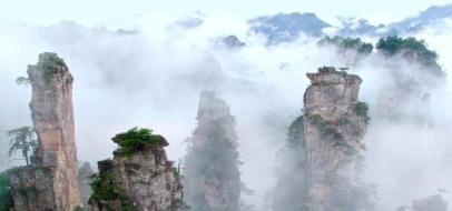 15 beautiful images of Zhangjiajie National Park in Hunan, China