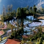 Spectacular Yuanyang rice-paddy terracing images and video