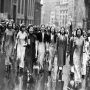 Chinese Women of America anti Japanese demonstrations in New